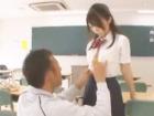 戸川夏也 誰もいない教室でワイルド系黒マッチョな先生の巨根にたくさん気持ち良くされられて可愛く喘いじゃうスレンダーな制服女子高生 erovideo女性のための無料アダルト動画