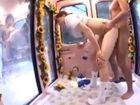 奥村友真 狭いマジックミラー号で黒マッチョなお兄さんからバックの体勢で丸見えの外を向かせられながら突かれまくっちゃう美白美女のセックス 裏アゲサゲ女性のための無料アダルト動画