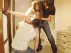 南佳也/森林原人 マッチョなエロメン男優さん達の激しすぎる腰使いに意識がもうろうとなるくらい感じちゃうスレンダー美女のハードな3Pセックス erovideo女性のための無料アダルト動画
