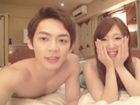 上原千明 モデル系イケメンの細マッチョお兄さんが応募してきた可愛いお姉さんと二人きりのホテルで自撮りを楽しみながらラブラブSEX Pornhub女性のための無料アダルト動画