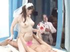 奥村友真 式を挙げたばかりの新婚さんなのに騙されてマジックミラー号に乗り込んじゃった花嫁さんがウェディングドレス姿のままイキナリ浮気SEXしちゃう JavyNow 女性のための無料アダルト動画